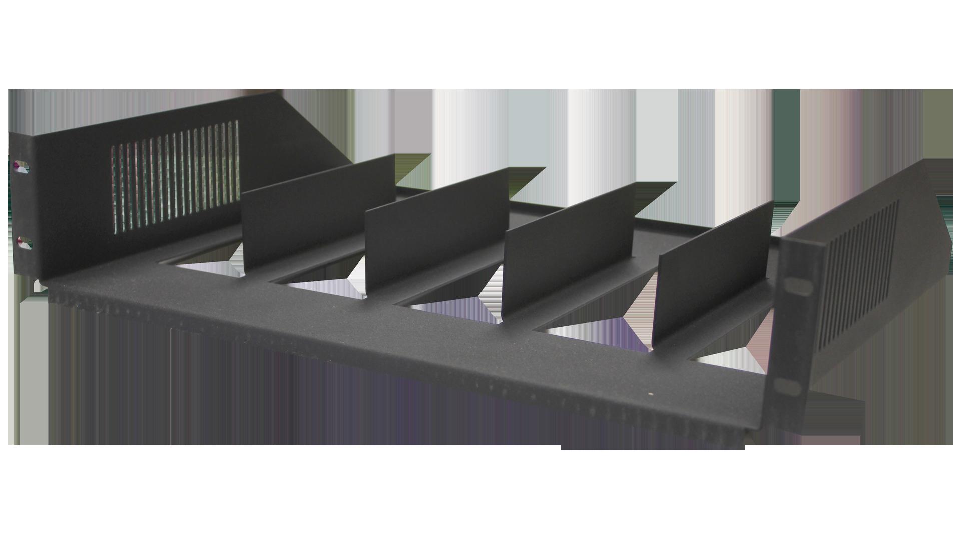 MOR-S5: Rack Mount Vertical Shelves