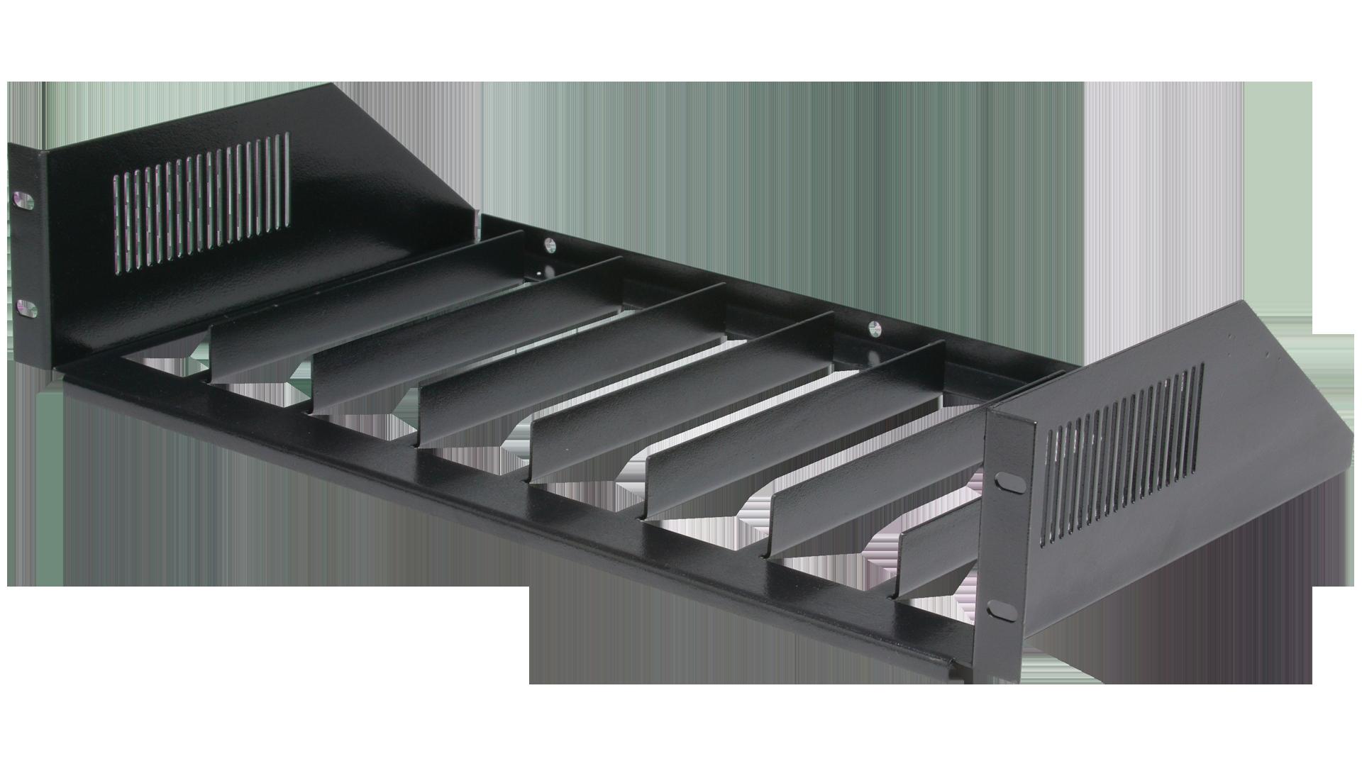 MOR-S8: Rack Mount Vertical Shelves