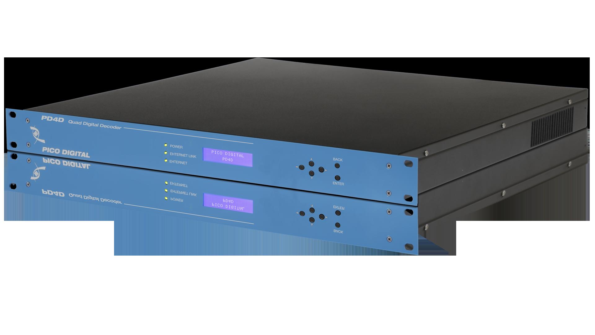 PD4D: Quad Digital Input MPEG-4/2 Decoder