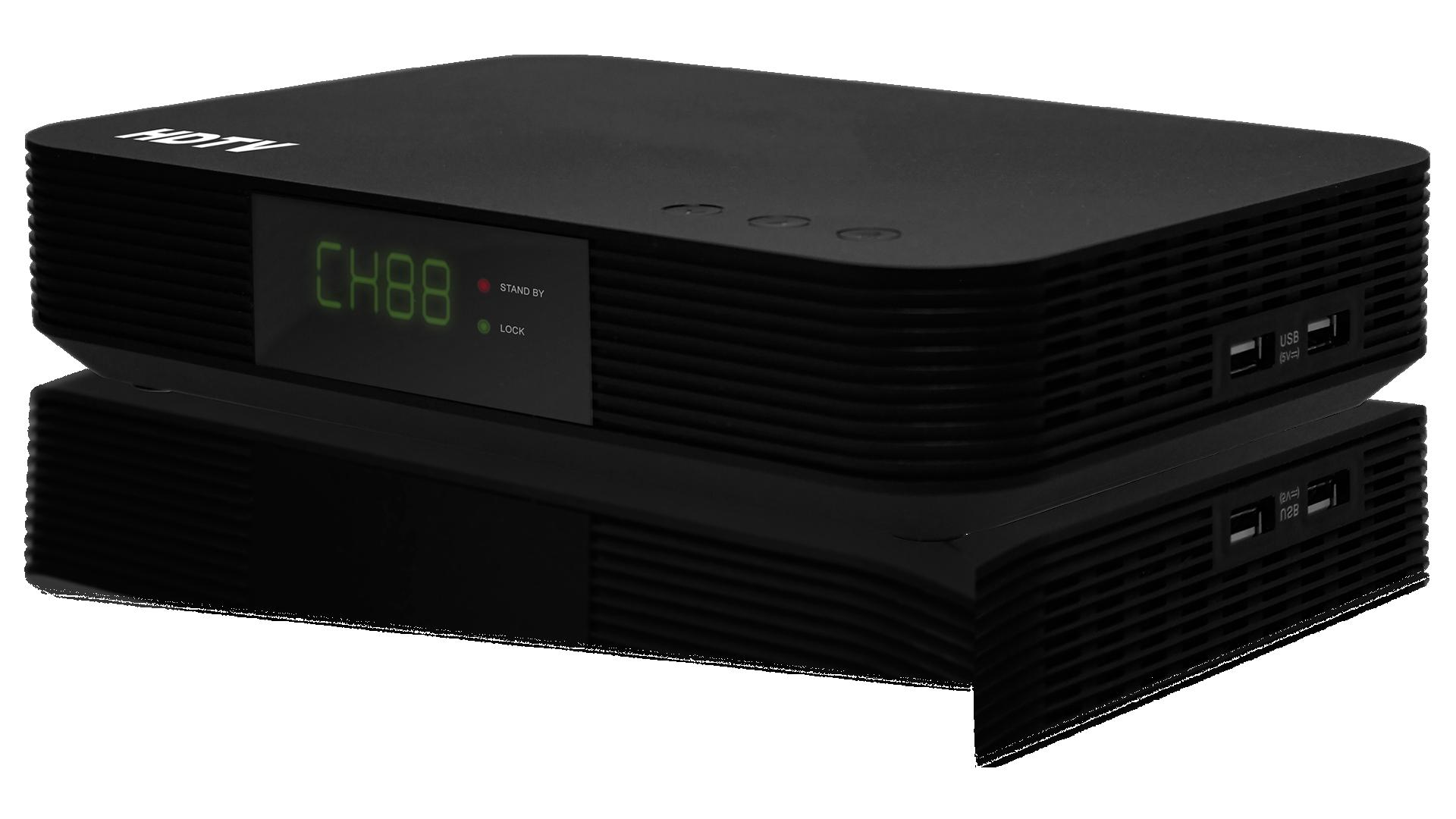 VMX3-1: Triple-Tuner High-Definition MPEG-2/4 QAM Set-Top Box With Verimatrix<sup>&reg;</sup> CAS