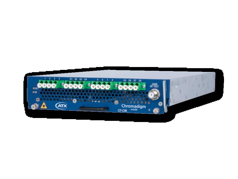 CF-CIR, Chromadigm Integrated RFoG TX