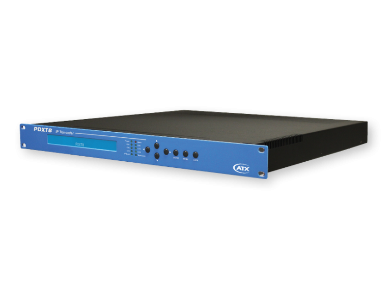 PDXT8: IP Transcoder (4 HD / 8 SD)