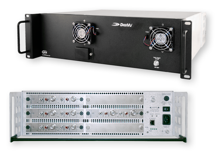 DigiVu Multichannel Encoder – IP & RF Out