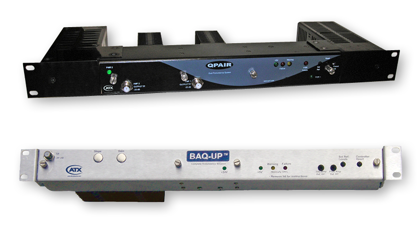 Q-Series Redundant Amplifier Systems