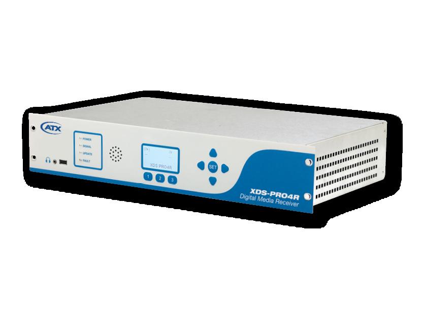 XDS-PRO4R: Audio Digital Media Receiver