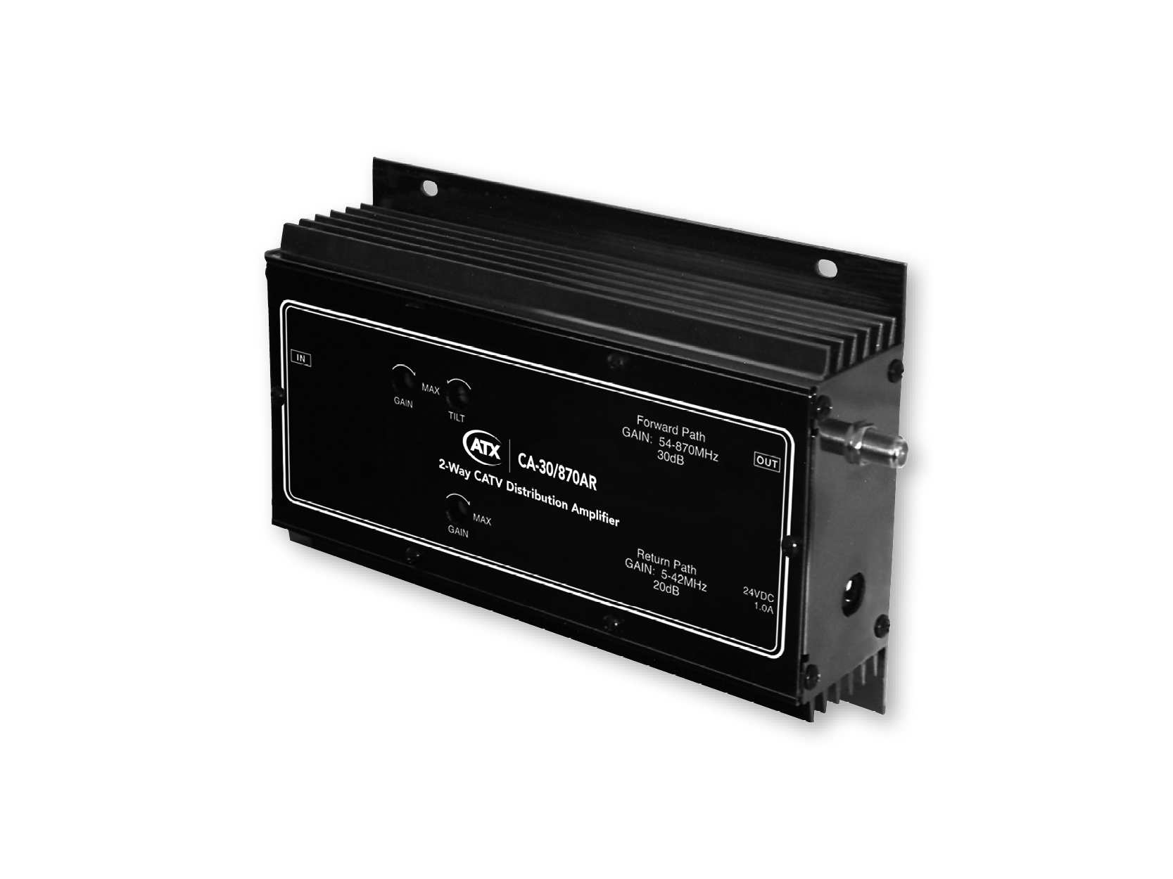 CA-30/870AR: 870 MHz Bidirectional CATV Distribution Amplifier