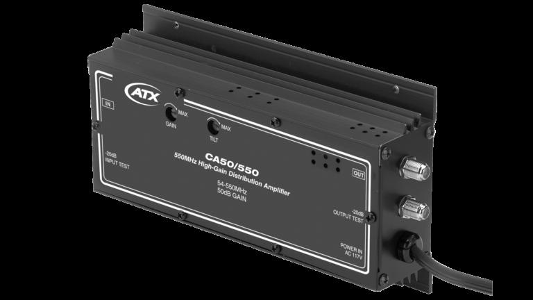CA-50/550: 550MHz High-Gain Distribution Amplifier