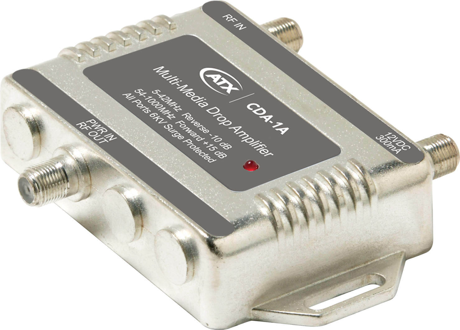 CDA-1A: 1GHz CATV Drop Bi-directional Amplifiers