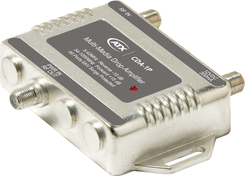 CDA-1P: 1GHz CATV Drop Bi-directional Amplifiers