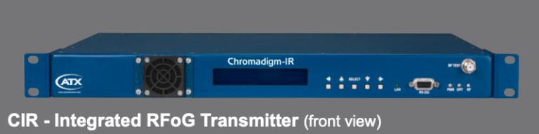Chromadigm CIR Integrated RFoG TX