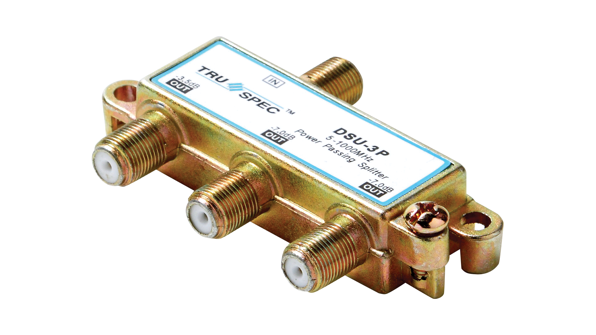 DSU-3P: 3-Port 1GHz Power Passing Splitter