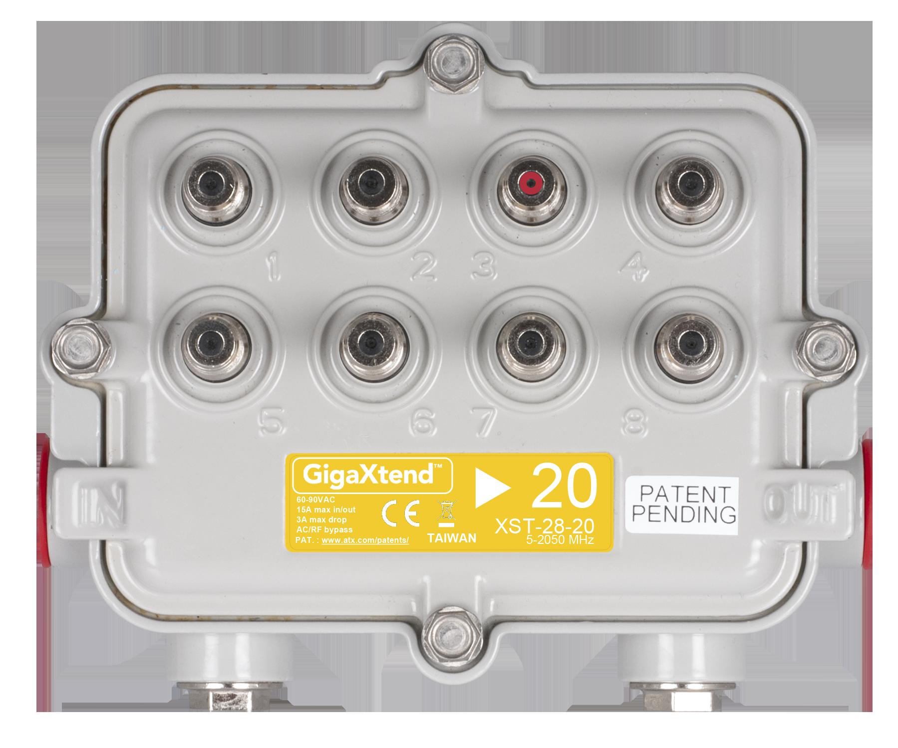 2GHz GigaXtend Hardline MultiPort Taps