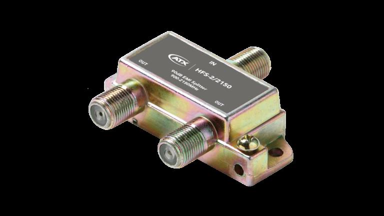 HFS-2/2150: 2-Port Splitter (1 Port Power Passing)
