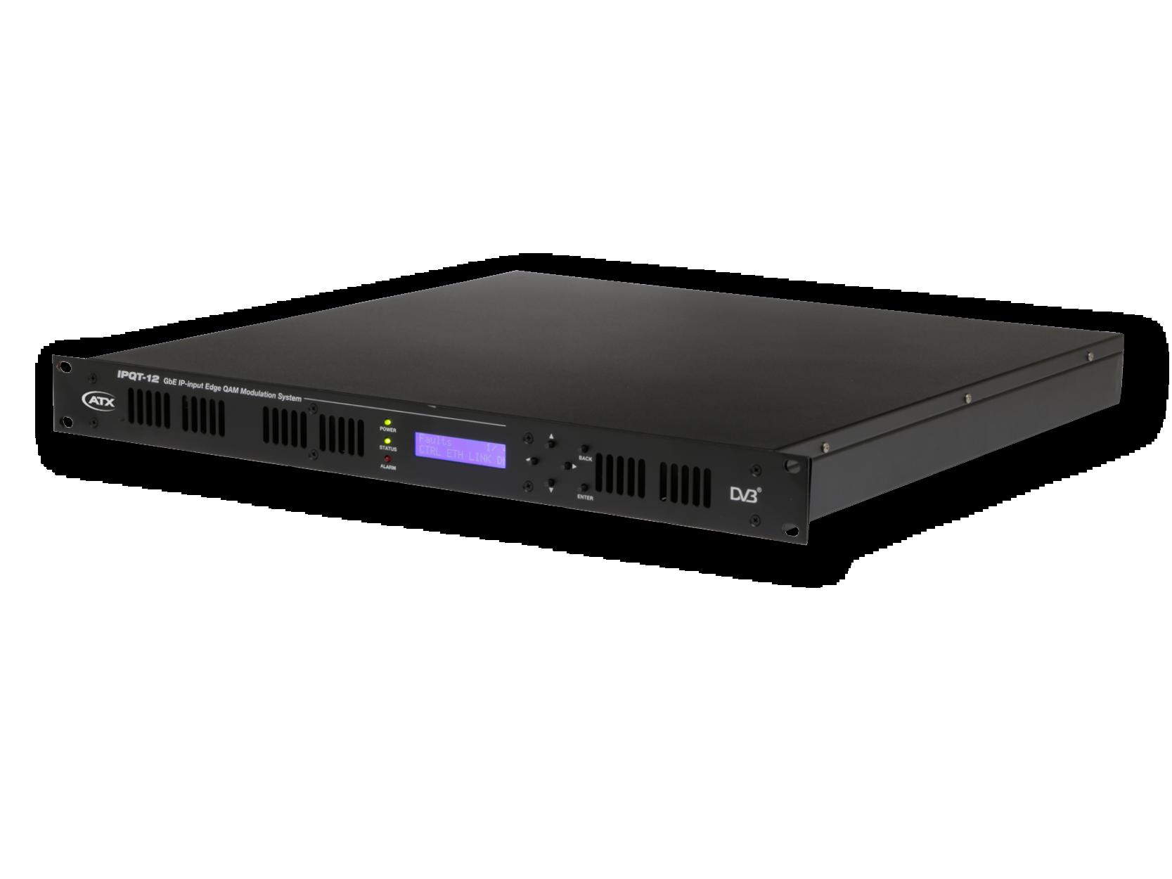 IPQT-12: GbE IP-input EdgeQAM Modulation System