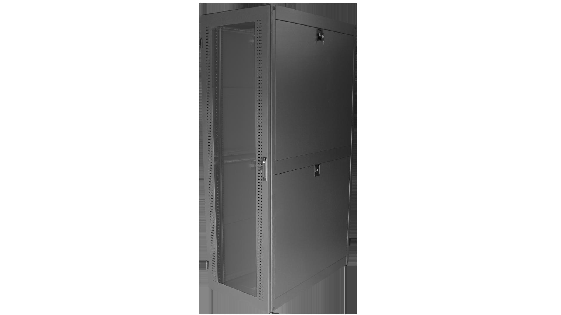 MOR-84ENC: Enclosed Rack with Enhanced-Ventilation
