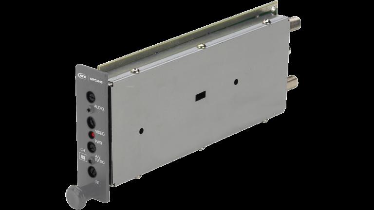 MPCM45: SAW Filtered Single Channel A/V Mini-Modulator