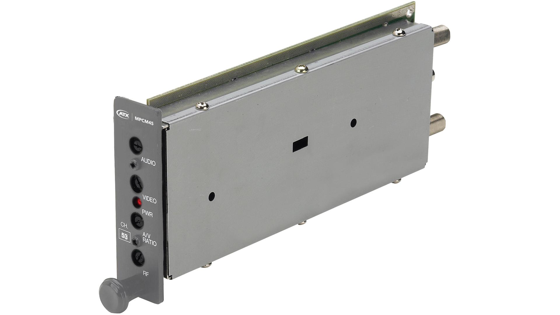 MPCM45: SAW Filtered Single Channel A/V Mini-Modulator - ATX
