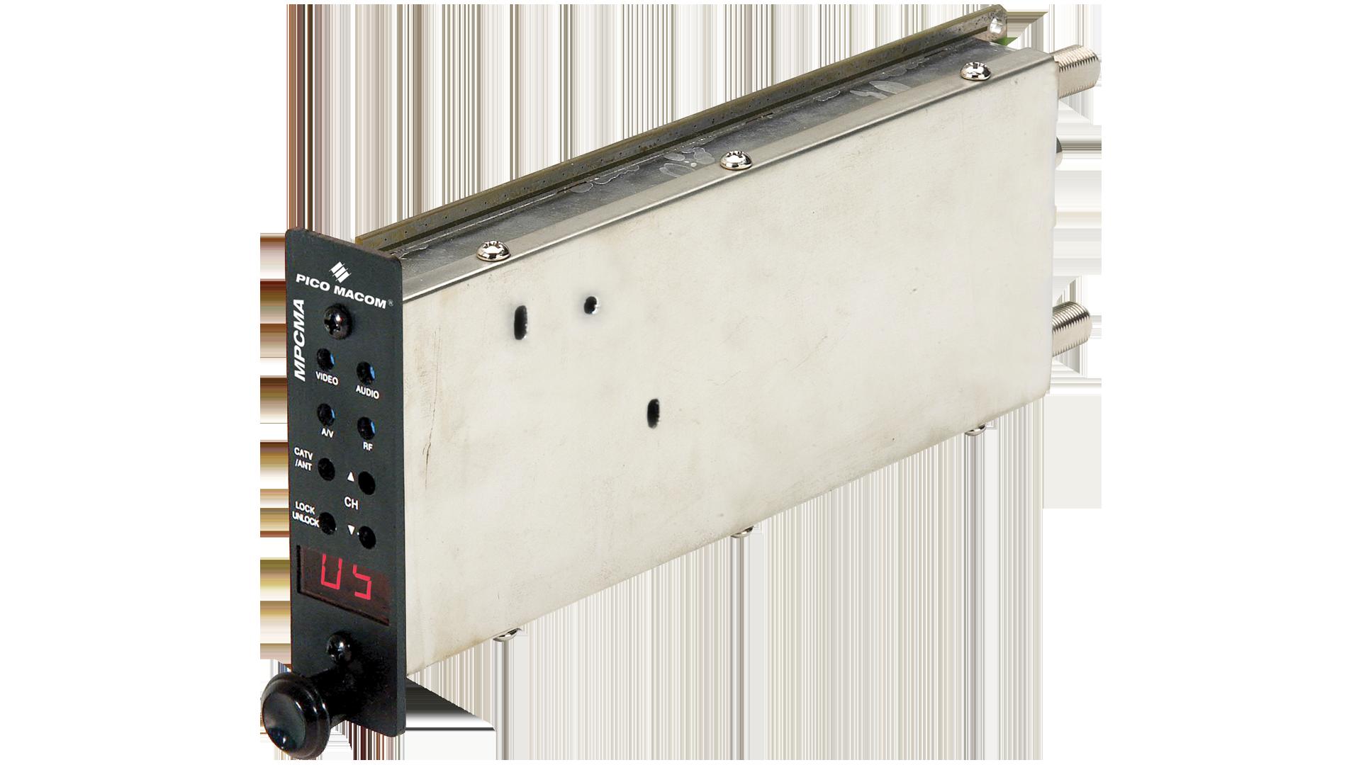 MPCMA-BG: SAW Filtered Agile A/V Mini-Modulator