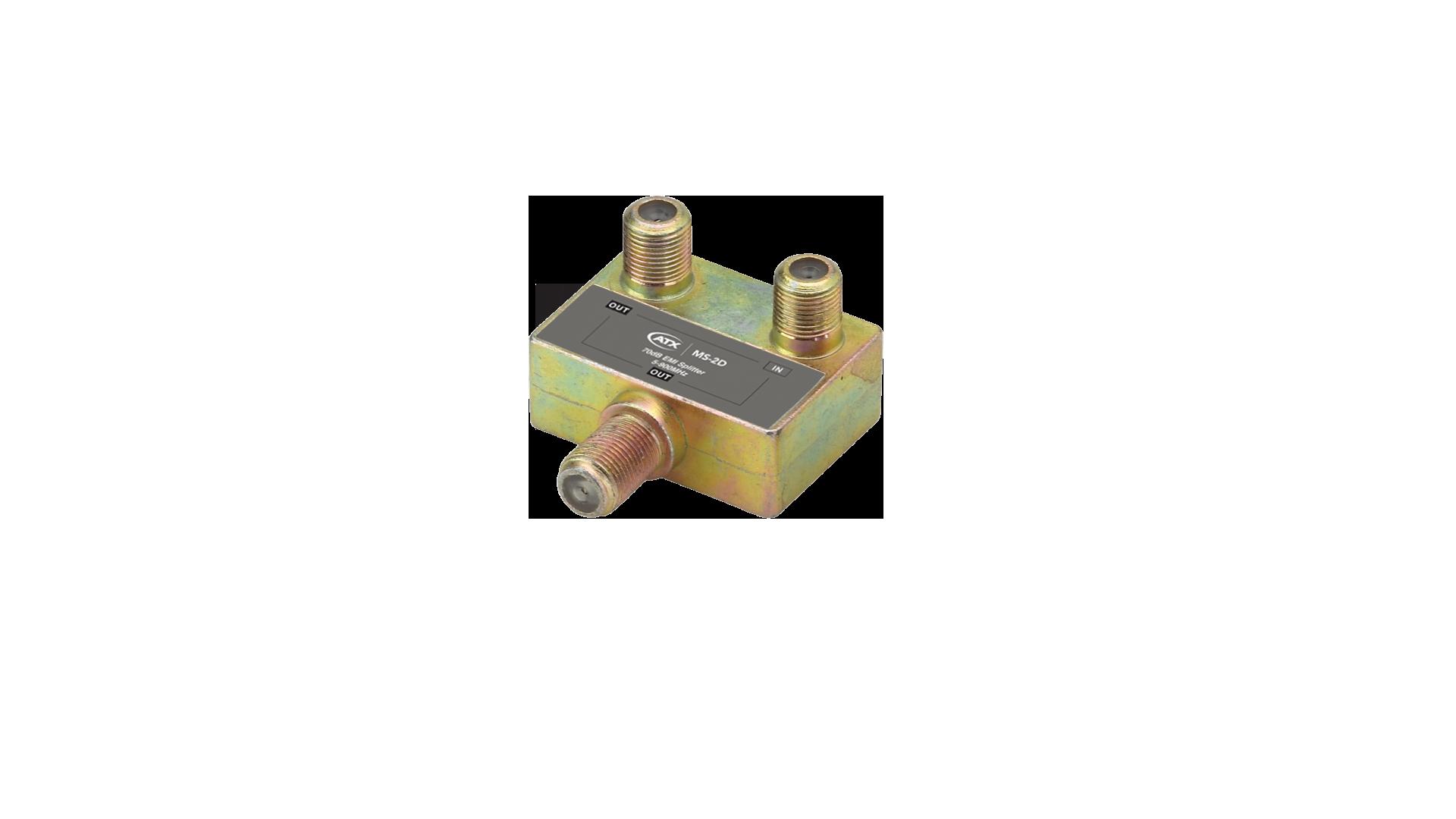 MS-2D: 2-Port 1GHz Power Passing Splitter
