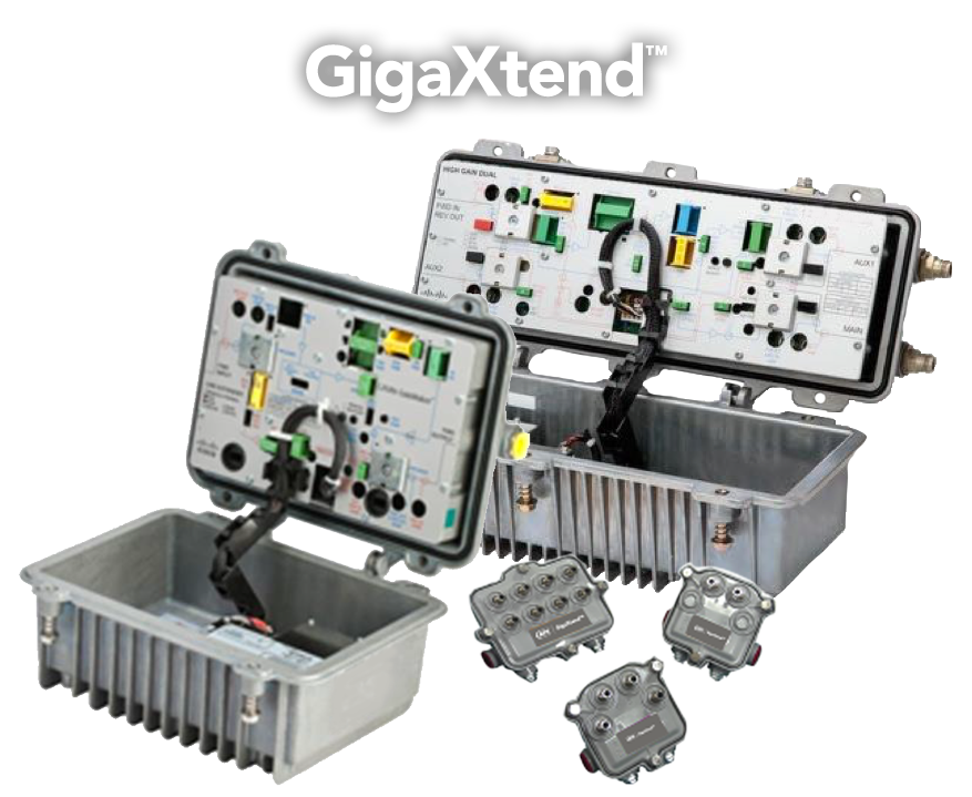 GigaXtend Amps, Taps & Passives