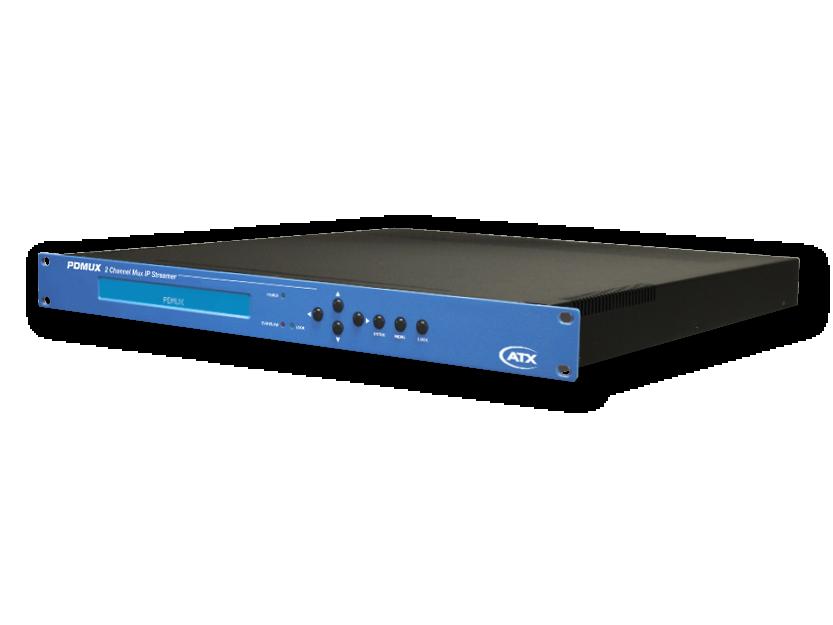 PDMUX: 2 Channel Mux IP Streamer