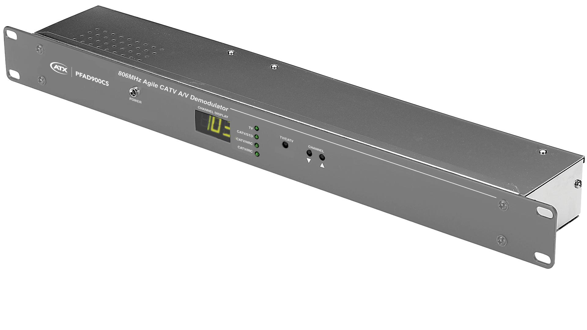 PFAD-900CS: Stereo Agile CATV A/V Demodulator