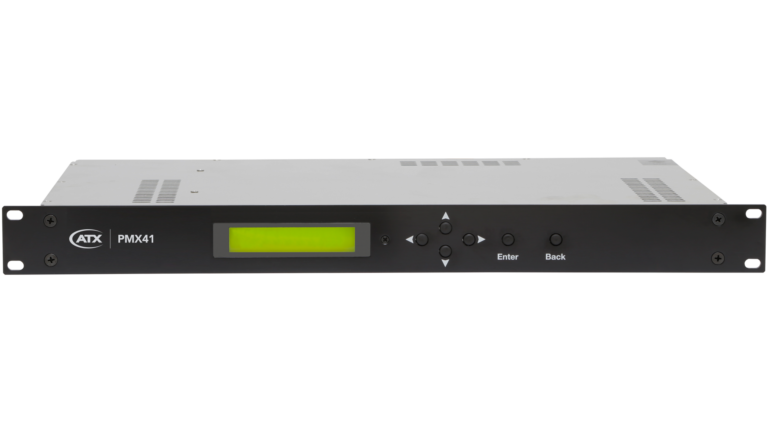 PMX41: Four ASI Input MPEG Multiplexer