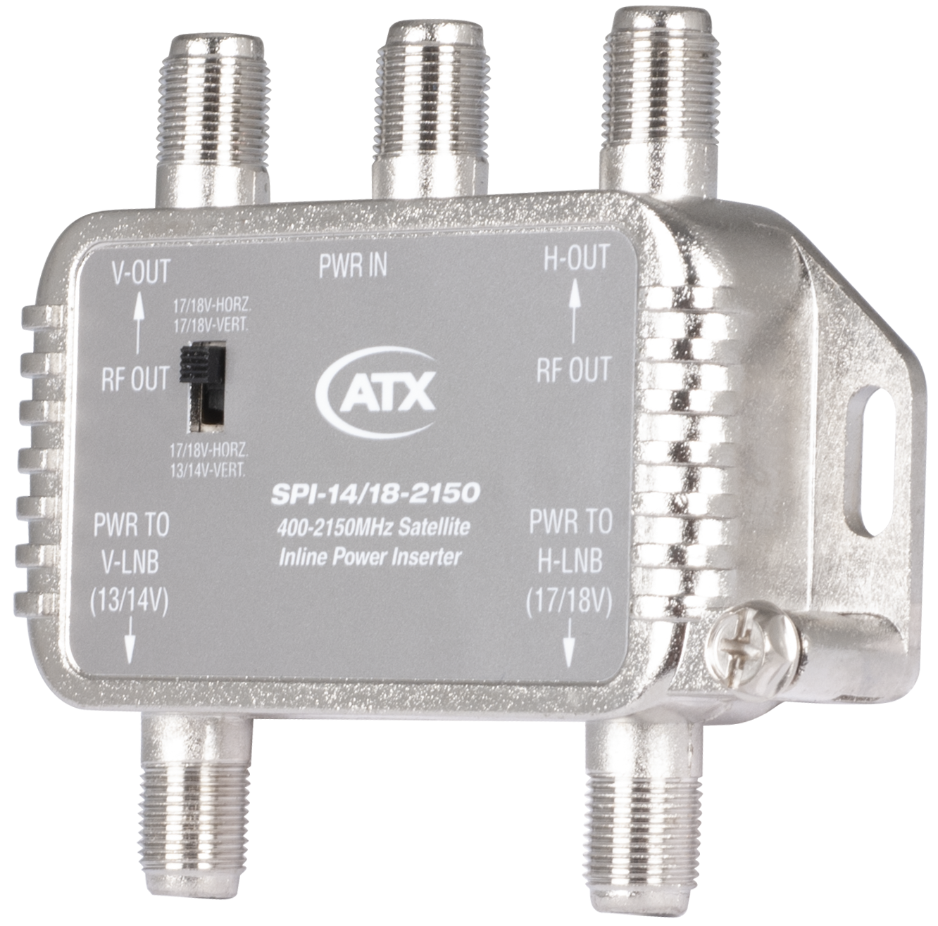 SPI-14/18-2150: 400 MHz to 2150 MHz, Satellite Inline Power Inserter