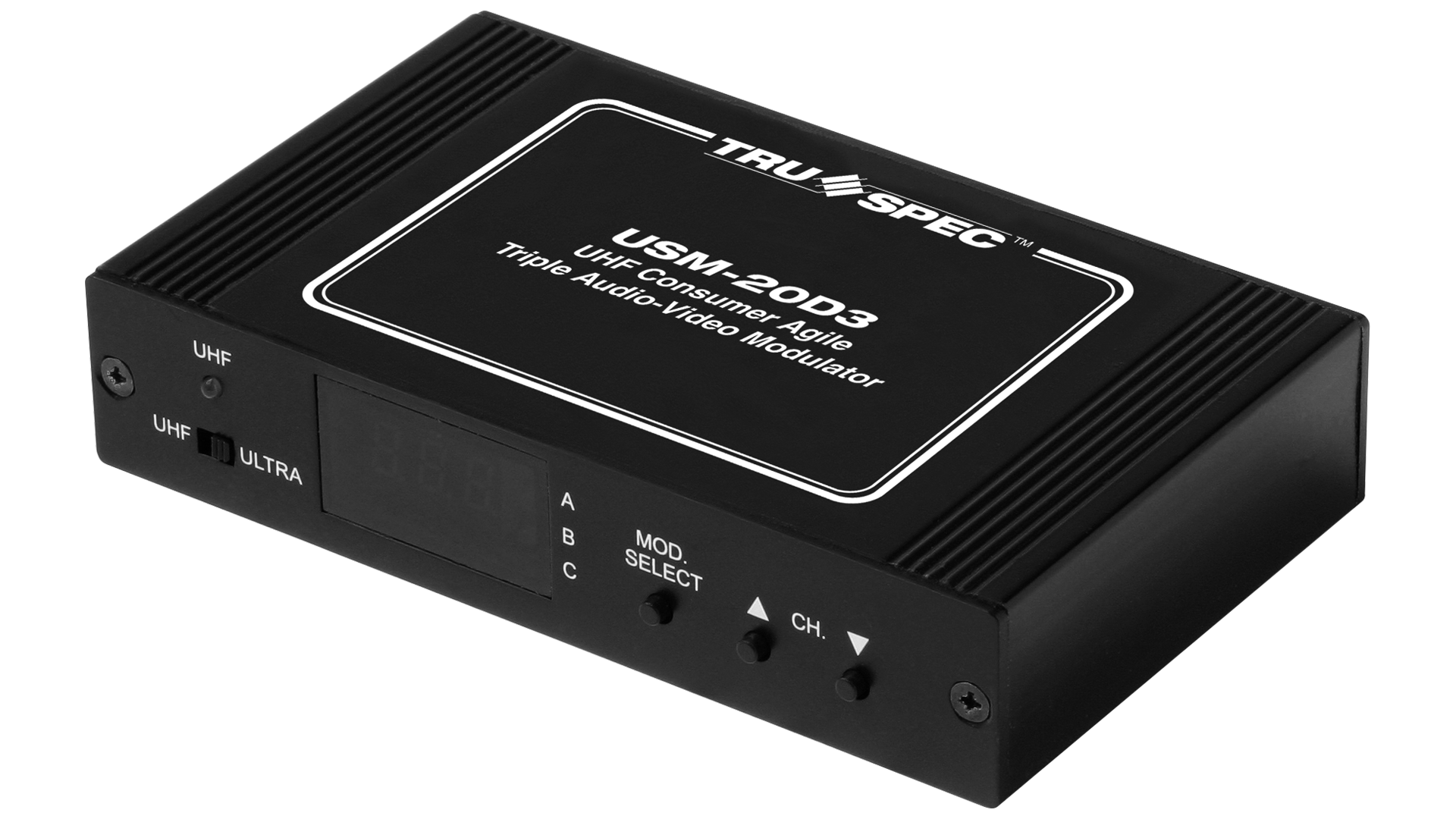 USM-20D3: Consumer Audio-Video RF Modulators