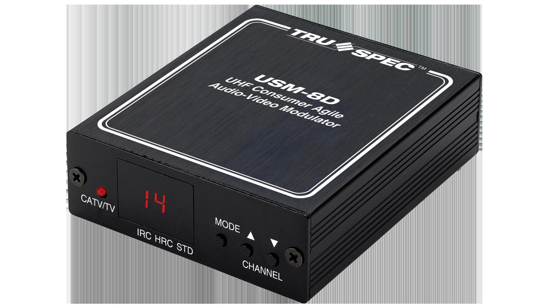 USM-8D: Consumer Audio-Video RF Modulators
