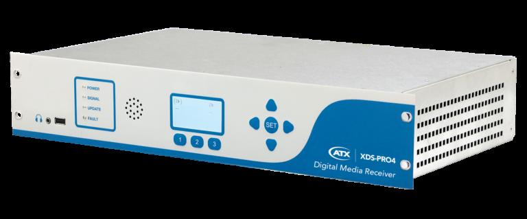 XDS-PRO4R Audio Digital Media Receiver