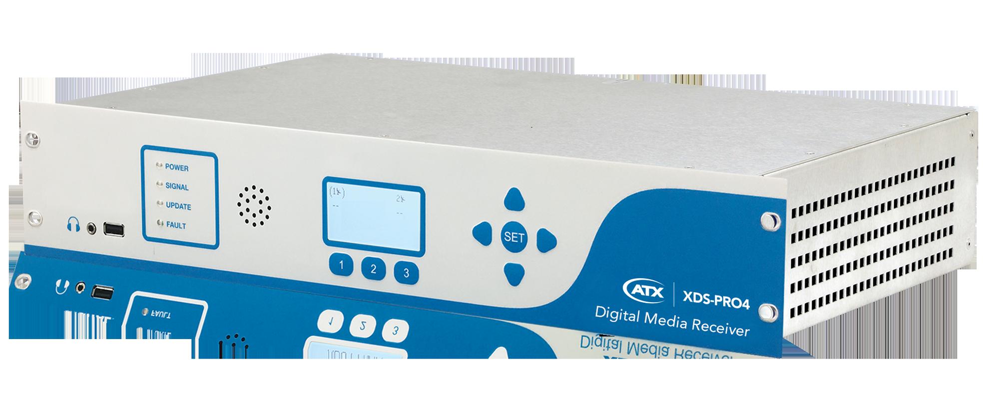 XDS-PRO4 Audio Digital Media Receiver - ATX Networks